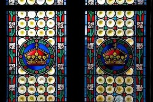 Fragment-of-stained-glass-window-in-Powder-Tower.Prague-Czech-Republic-9567-600x400